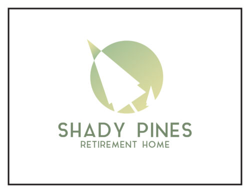 Logo Concept: Shady Pines Retirement Home