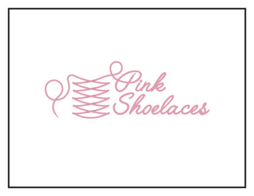Logo Concept: Pink Shoelaces (Girls' Boutique)
