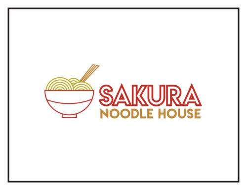 Logo Concept: Sakura Noodle House