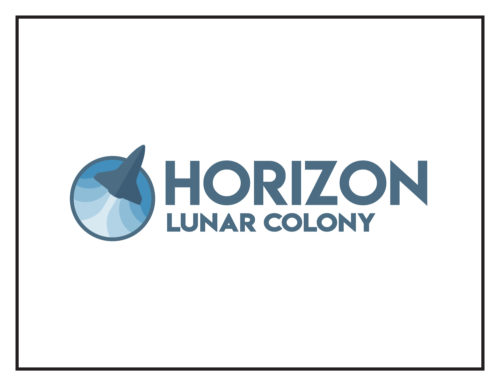 Logo Concept: Horizon Lunar Colony